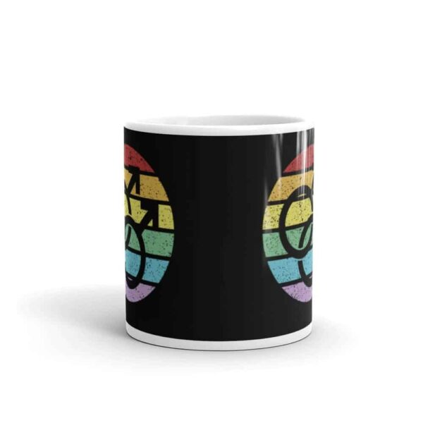 Retro Gay Male Symbol Pride LGBT Coffee Mug