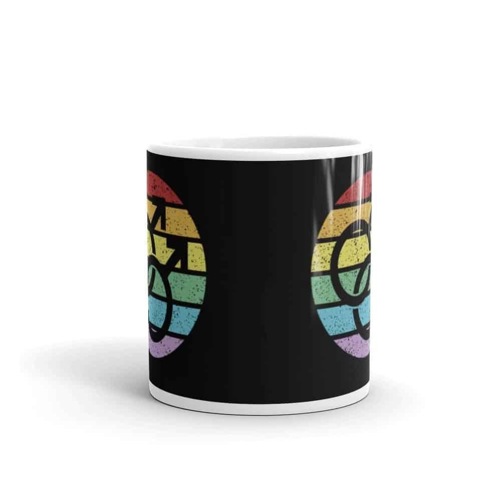 Retro Gay Male Symbol Pride LGBT Coffee Mug