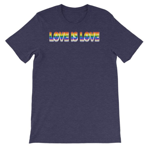 Love is Love LGBTQ Tshirt Navy