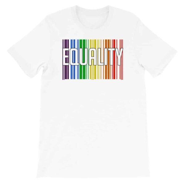 Equality LGBTQ Tshirt White