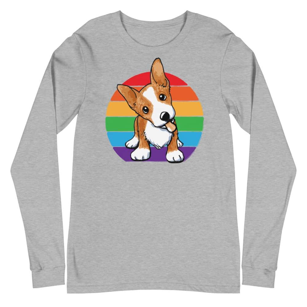 Corgi LGBT Pride Long Sleeve Tshirt
