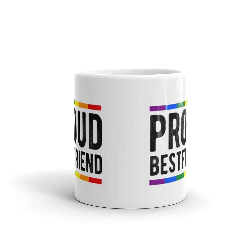 Proud Best Friend Pride Coffee Mug