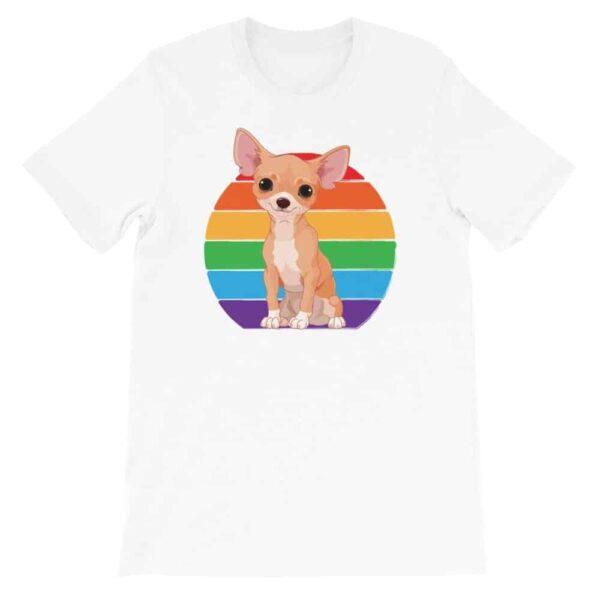 Chihuahua Rainbow LGBT Pride Tshirt