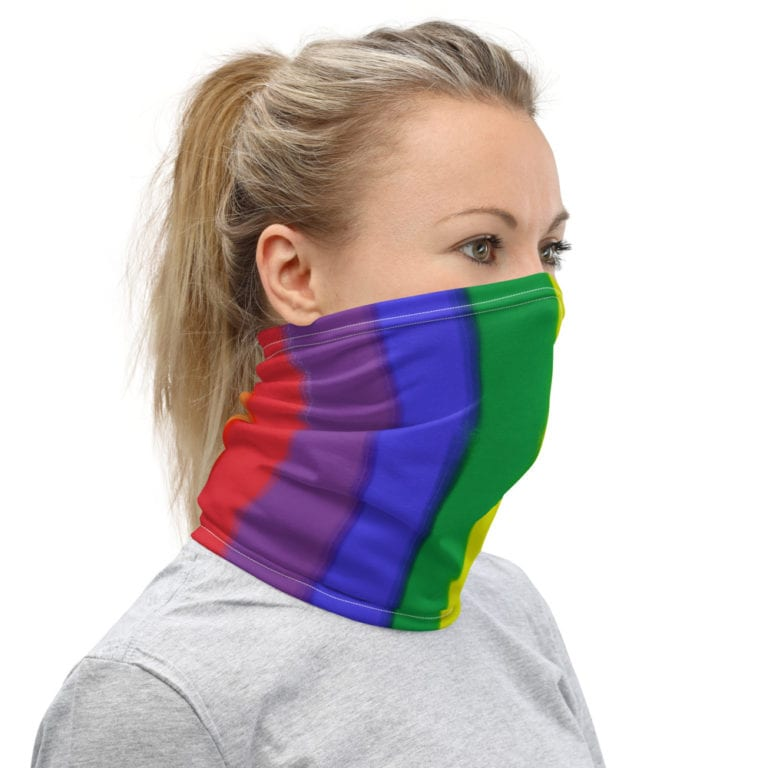 LGBT Rainbow Flag Face Mask