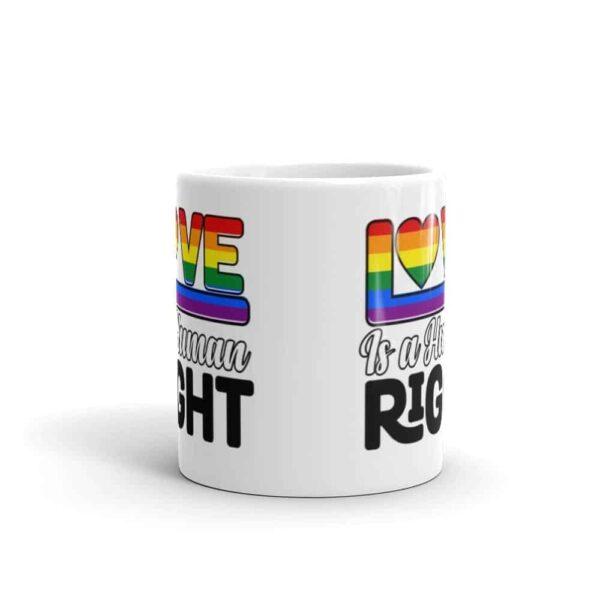 Love is a Human Right Pride LGBT Coffee Mug
