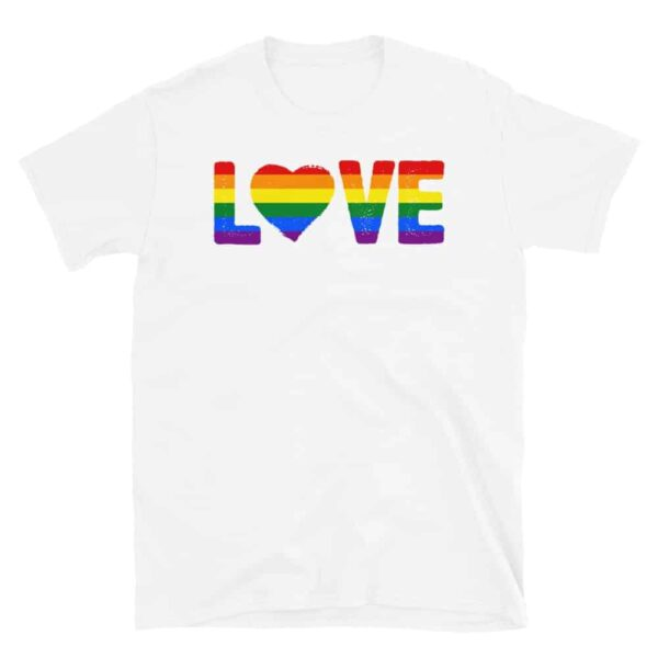 LGBTQ Love Gay Pride Tshirt