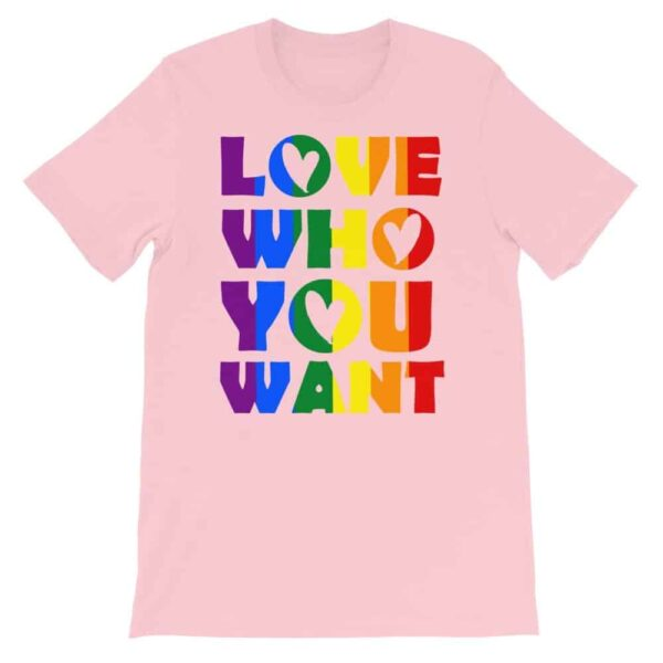 Female Gay Pride Tshirt