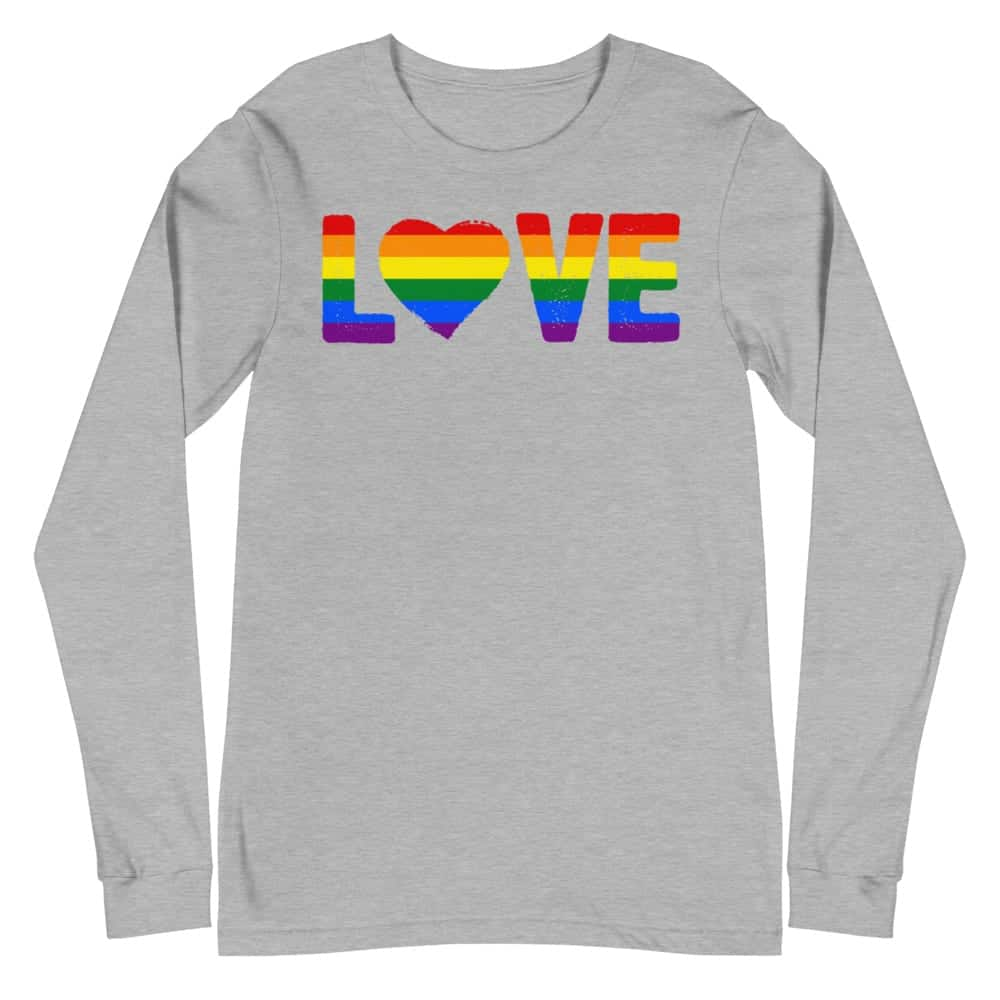 Gay Pride LGBT Love Long Sleeve Tshirt