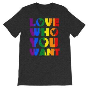 Gay Pride Rainbow Love Tshirt