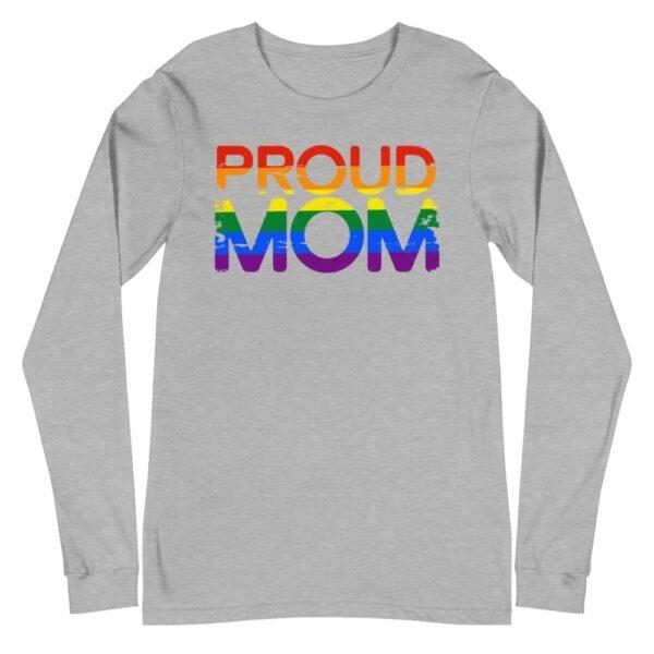 Proud Mom Gay Pride Long Sleeve Tshirt