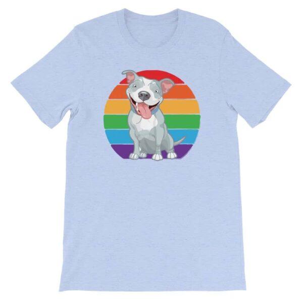 Pit Bull Gay Pride Tshirt