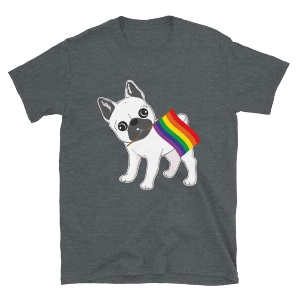 LGBTQ French Bulldog Gay Pride Tshirt