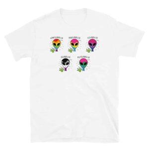 Homosexual Aliens Novelty Pride Tshirt