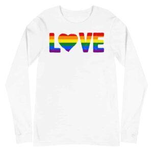 LGBTQ Love Gay Pride Long Sleeve Tshirt