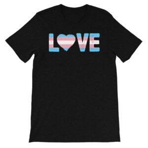 Transgender Pride LOVE Tshirt