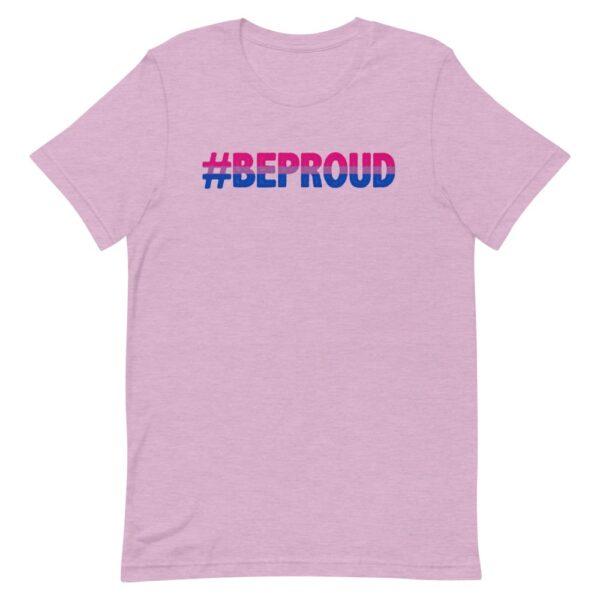 Be Proud Bisexual Flag Tshirt