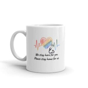 Healthcare Worker Pride Coffee Mug