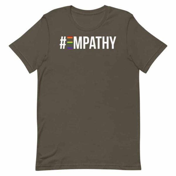 #Empathy LGBTQ Pride Tshirt