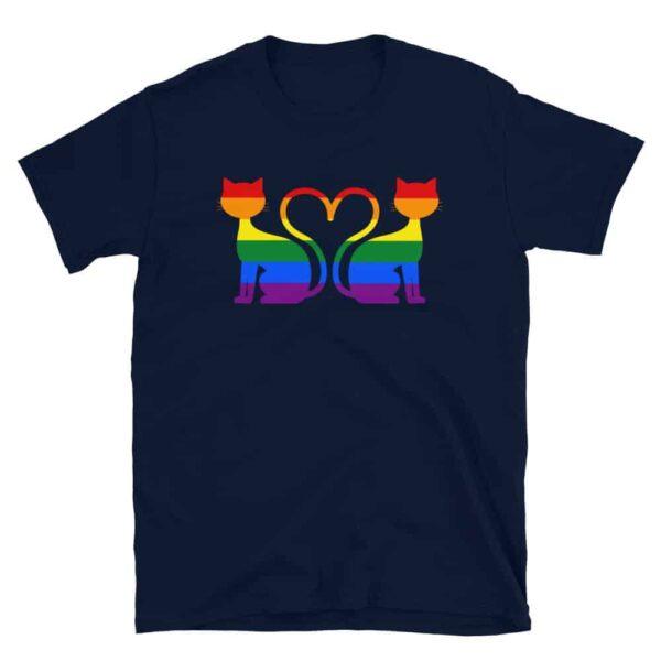Gay Pride Cat Tshirt