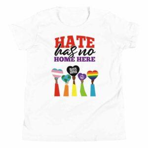 Hate Has No Home Here Kid Pride BLM Tshirt