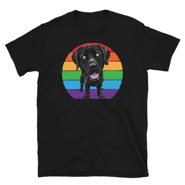 LGBTQ Labrador Gay Pride Tshirt