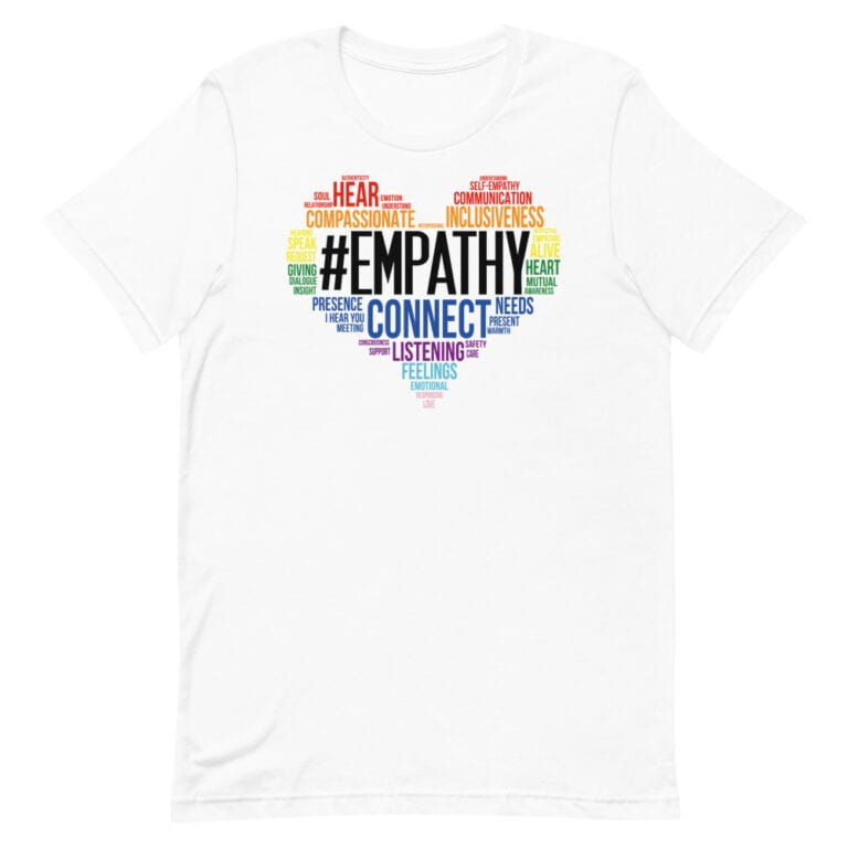 #Empathy from the Heart Pride Tshirt