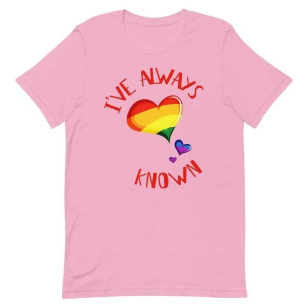 I've Always Known Coming Out LGBT Pride Tshirt