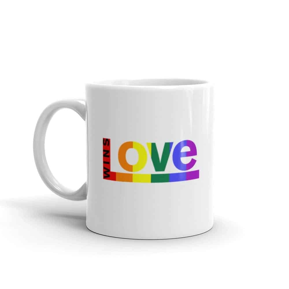 Love Wins LGBTQ Pride Coffee Mug