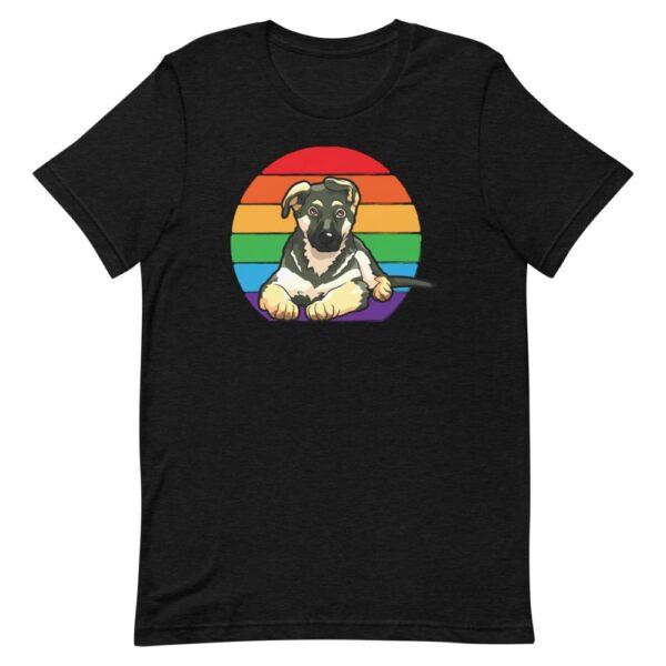 LGBTQ German Shepherd Tshirt