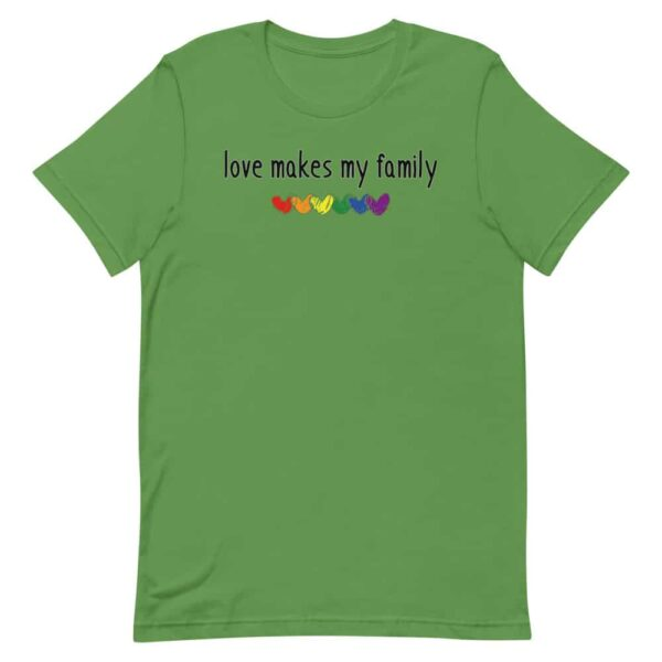 Family Gay Pride Clothes Love Makes My Family