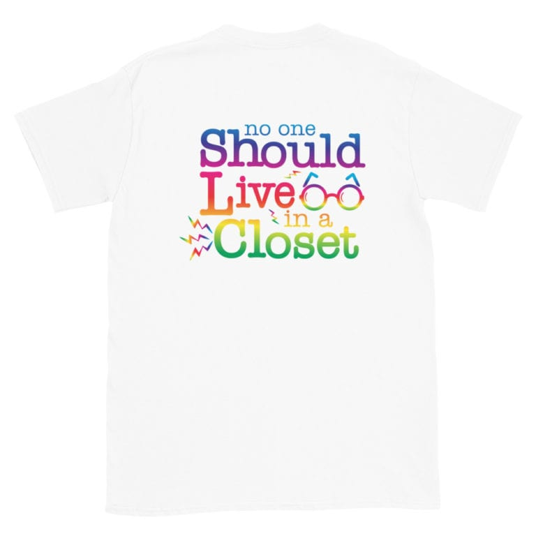 Come Out of the Closet LGBTQ Pride Tshirt