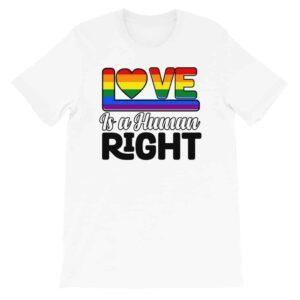 LGBTQ Human Right Pride Tshirt