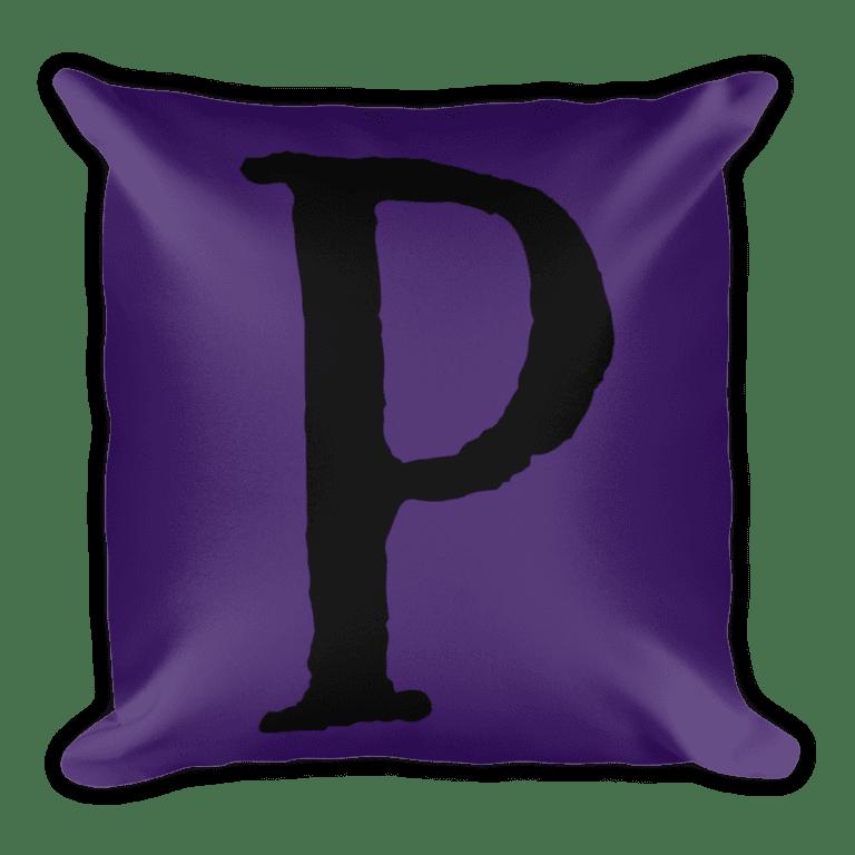 PRIDE Throw Pillow P Purple
