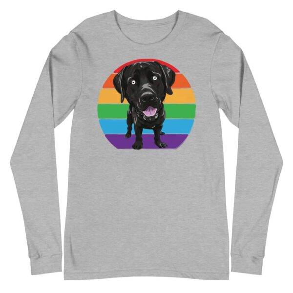 Labrador Love Gay Pride Long Sleeve Tshirt