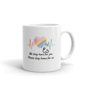 Healthcare Worker Pride LGBTQ Coffee Mug