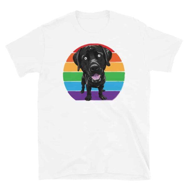 LGBT Labrador Gay Pride Tshirt