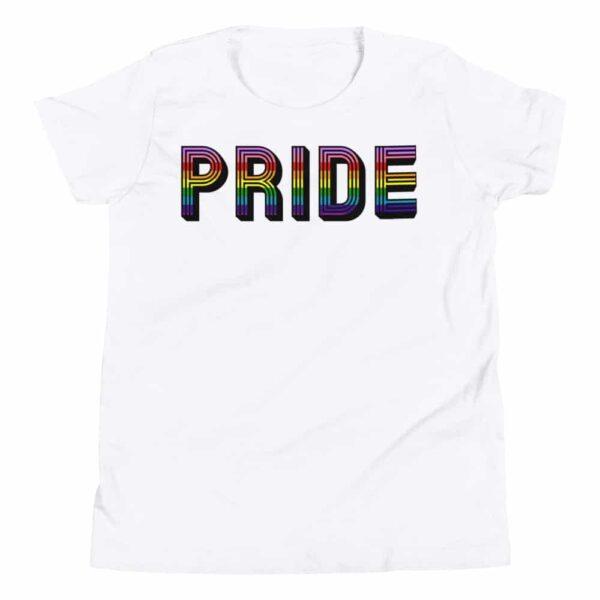 Pride Kids Tshirt White