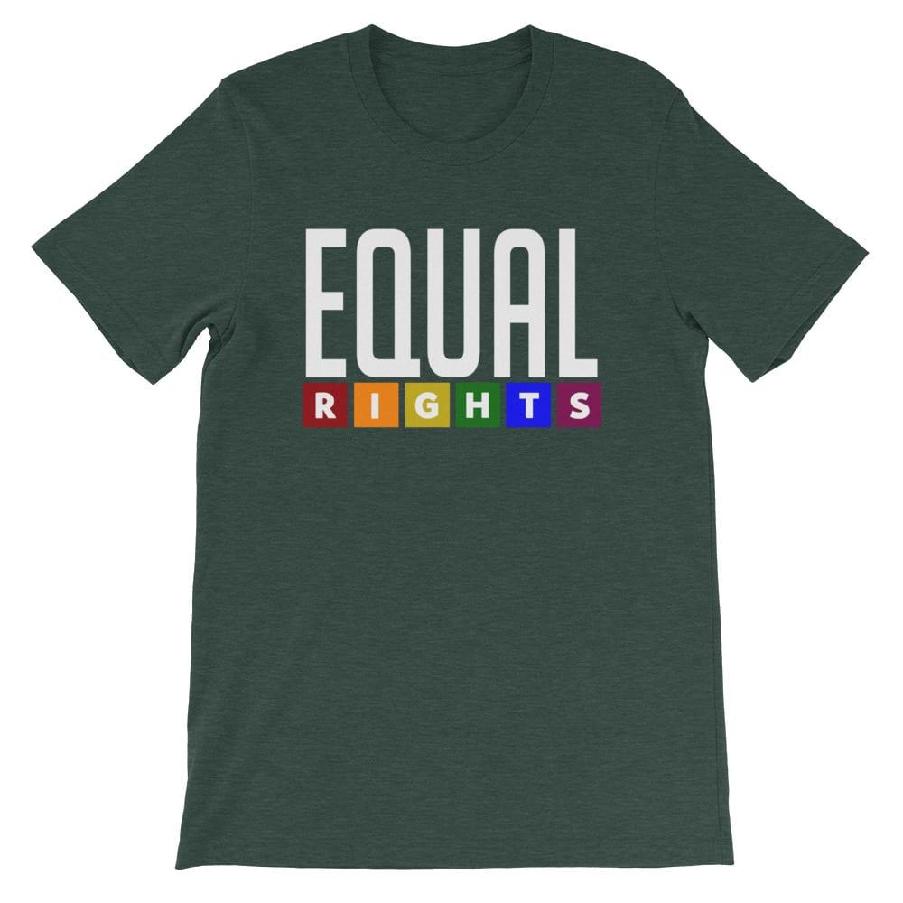 EQUAL RIGHTS LGBTQ Pride Tshirt Forest