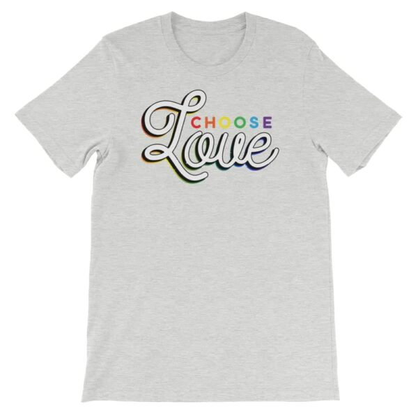 Gay Pride Tshirt Choose Love