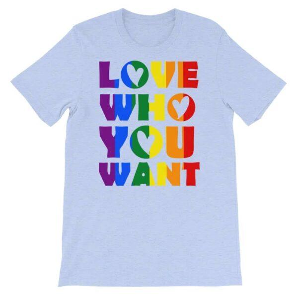 Fun Gay Pride Love Tshirt