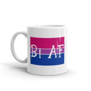 Bi AF Pride Coffee Mug