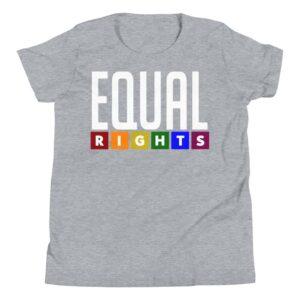 EQUAL RIGHTS Kid Tshirt Grey