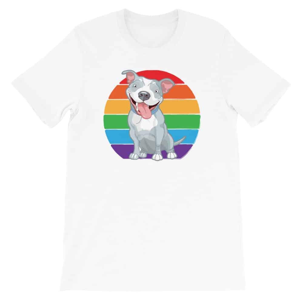 Pit Bull LGBT Pride Tshirt