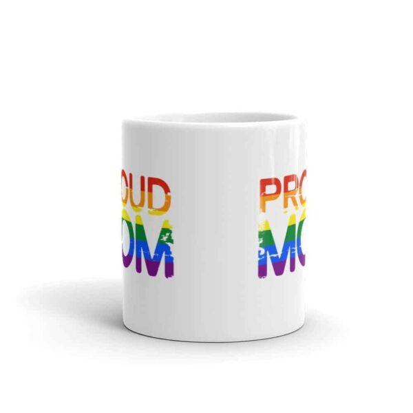 Gay Pride Proud Mom Coffee Mug