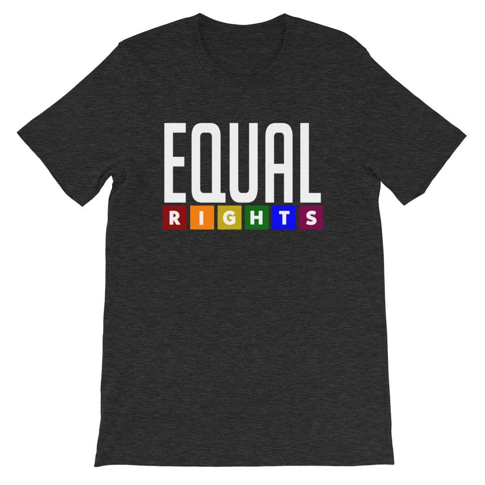 EQUAL RIGHTS LGBTQ Pride Tshirt Heather