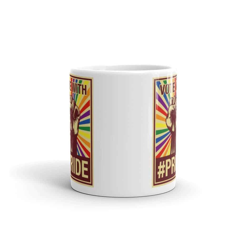 Vote with #Pride LGBT Coffee Mug