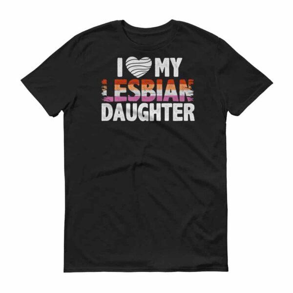 Dad Loves Gay Daughter Tshirt