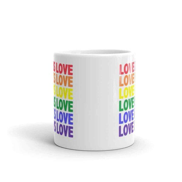 Love is Love LGBTQ Pride Coffee Mug