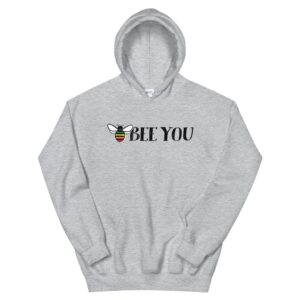 Bee You Gay Pride Hoodie