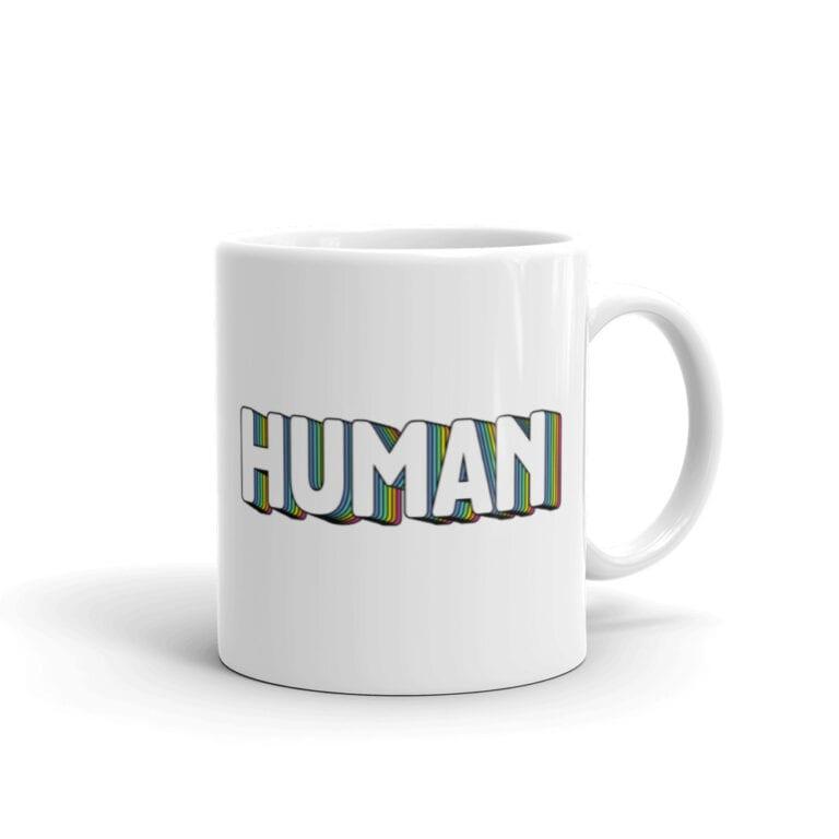Human Pride LGBTQ Coffee Mug